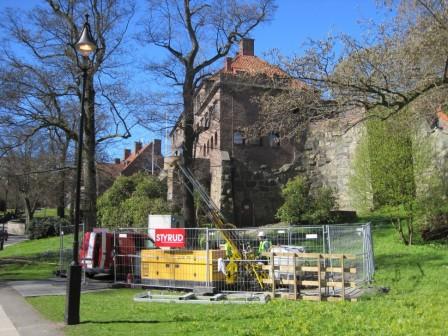 Styruds arbetsplats i Renströmsparken